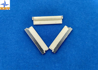 চীন nicked-plated shell 0.039 inch pitch PA66 material crimp type DF19 wire to board connector কারখানা