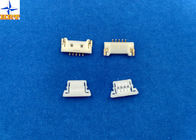 1.25mm Pitch usb Circuit Board Wire Connectors With Lock Structure PA66 / LCP Material